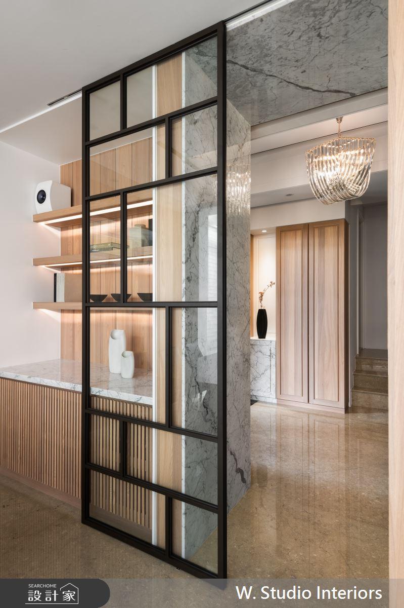 150坪新成屋(5年以下)_現代風玄關案例圖片_哲苑室內設計 W. Studio Interiors_哲苑_01之2