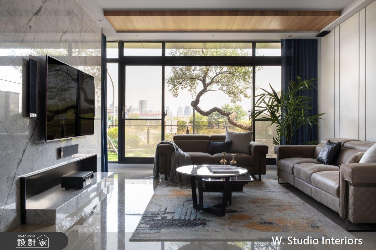 150坪新成屋(5年以下)_現代風客廳案例圖片_哲苑室內設計 W. Studio Interiors_哲苑_01之3
