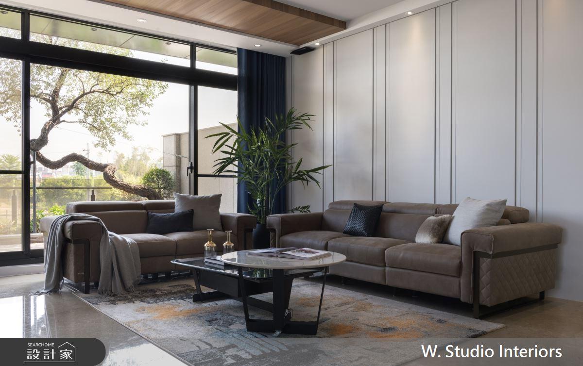 150坪新成屋(5年以下)_現代風客廳案例圖片_哲苑室內設計 W. Studio Interiors_哲苑_01之4