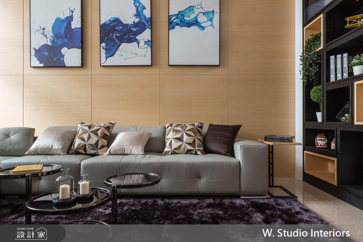 70坪中古屋(5~15年)_現代風客廳案例圖片_哲苑室內設計 W. Studio Interiors_哲苑_04之2