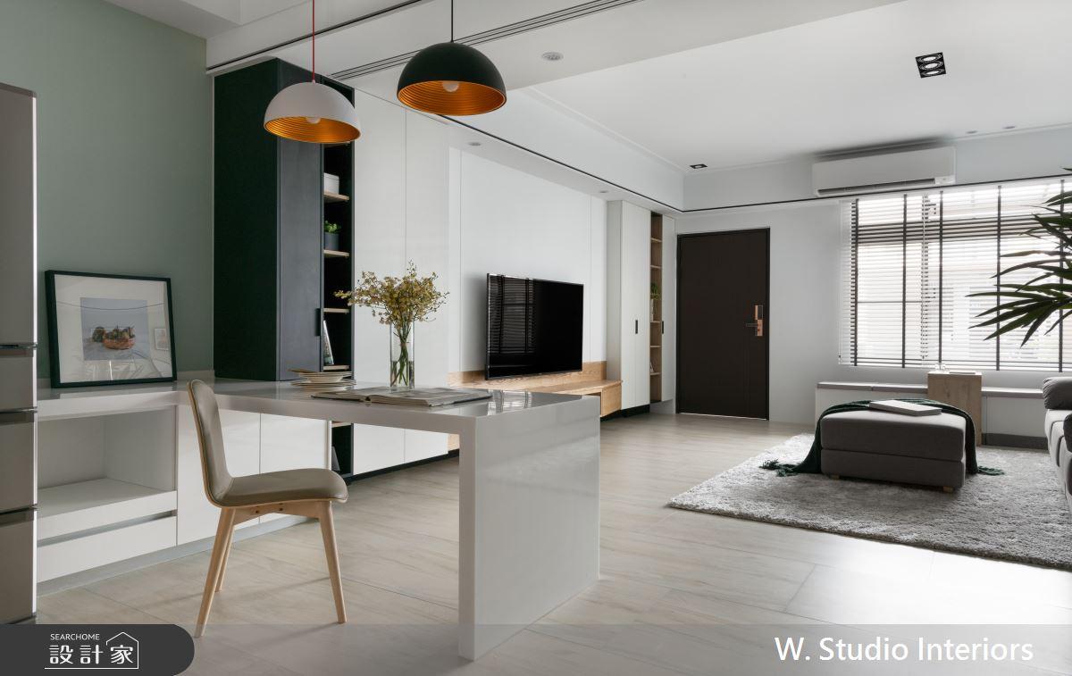 70坪新成屋(5年以下)_北歐風餐廳案例圖片_哲苑室內設計 W. Studio Interiors_哲苑_06之8