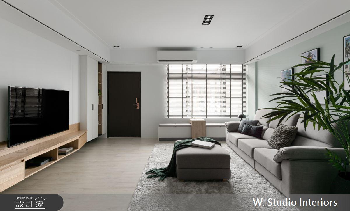 70坪新成屋(5年以下)_北歐風客廳案例圖片_哲苑室內設計 W. Studio Interiors_哲苑_06之1