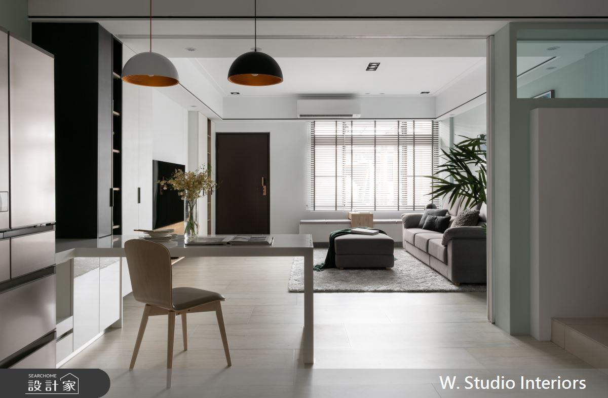 70坪新成屋(5年以下)_北歐風餐廳案例圖片_哲苑室內設計 W. Studio Interiors_哲苑_06之9