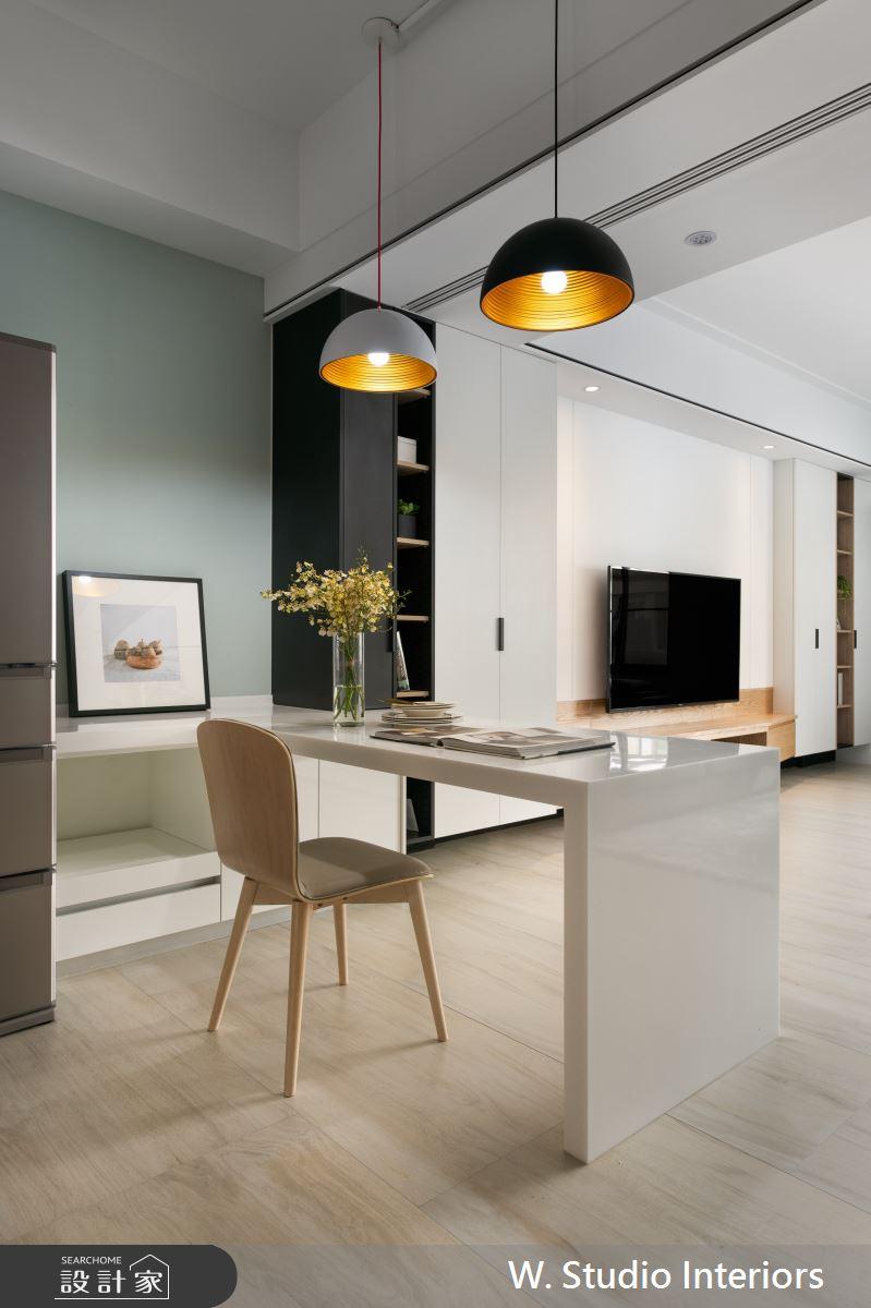 70坪新成屋(5年以下)_北歐風餐廳案例圖片_哲苑室內設計 W. Studio Interiors_哲苑_06之7