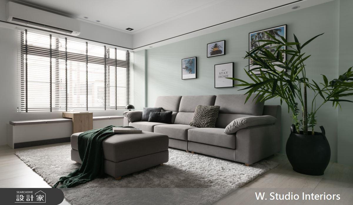 70坪新成屋(5年以下)_北歐風客廳案例圖片_哲苑室內設計 W. Studio Interiors_哲苑_06之2