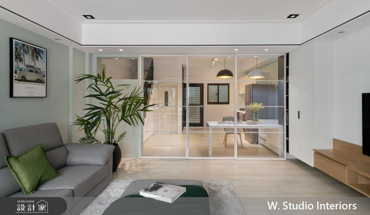 70坪新成屋(5年以下)_北歐風客廳案例圖片_哲苑室內設計 W. Studio Interiors_哲苑_06之4