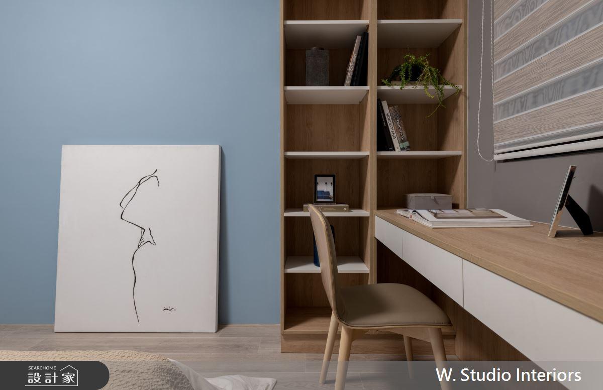 70坪新成屋(5年以下)_北歐風臥室案例圖片_哲苑室內設計 W. Studio Interiors_哲苑_06之15