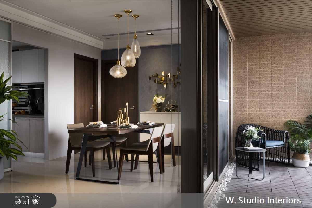 49坪新成屋(5年以下)_現代風餐廳案例圖片_哲苑室內設計 W. Studio Interiors_哲苑_08之5