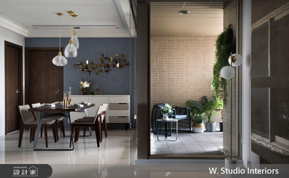 49坪新成屋(5年以下)_現代風餐廳陽台案例圖片_哲苑室內設計 W. Studio Interiors_哲苑_08之4
