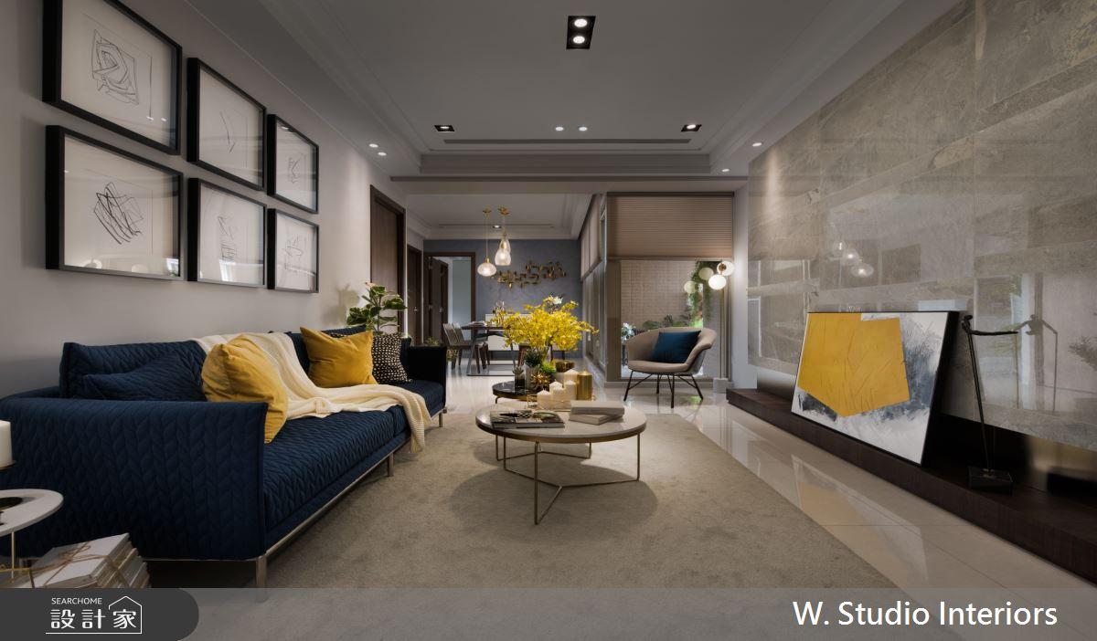 49坪新成屋(5年以下)_現代風客廳案例圖片_哲苑室內設計 W. Studio Interiors_哲苑_08之2