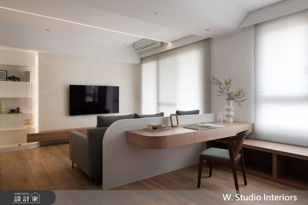 20坪新成屋(5年以下)_混搭風案例圖片_哲苑室內設計 W. Studio Interiors_哲苑_12之4