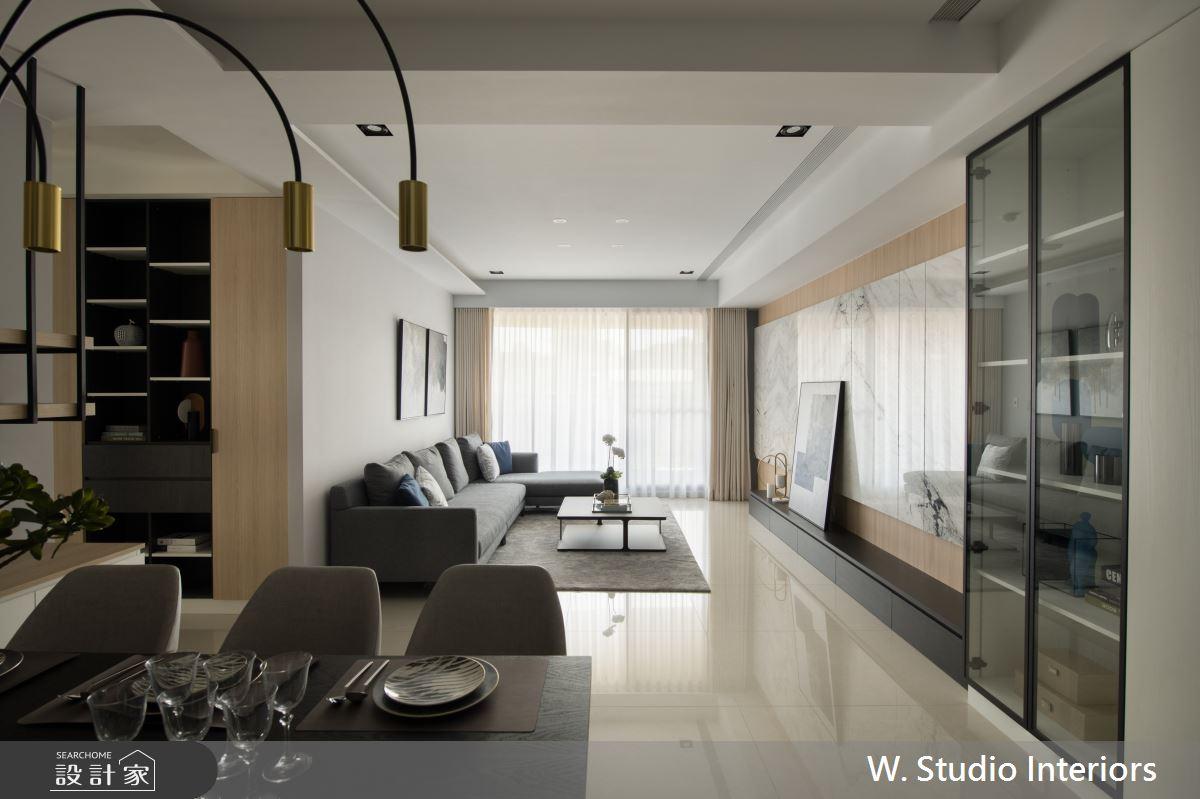 50坪新成屋(5年以下)_混搭風案例圖片_哲苑室內設計 W. Studio Interiors_哲苑_13之1