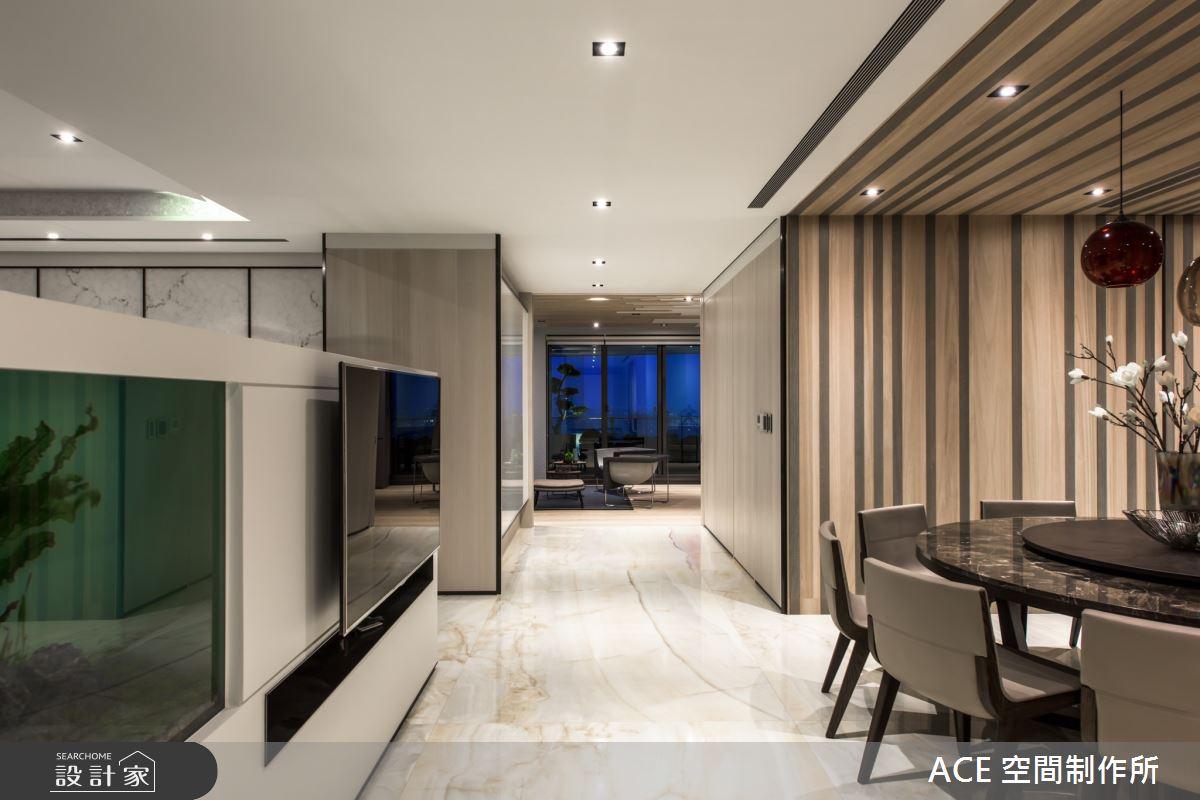 123坪新成屋(5年以下)_現代風餐廳案例圖片_ACE 空間制作所_ACE 空間制作所_02之4