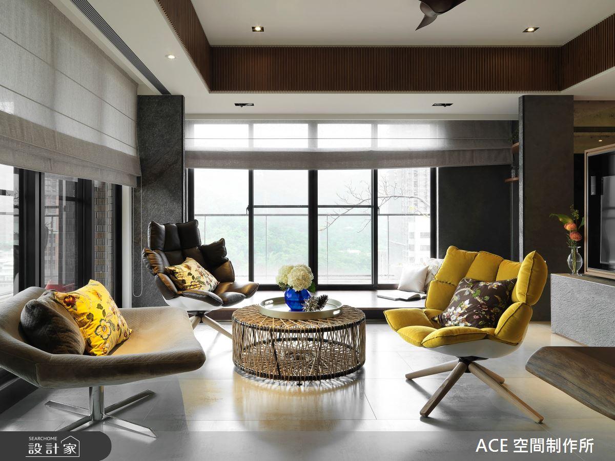 48坪新成屋(5年以下)_混搭風客廳案例圖片_ACE 空間制作所_ACE 空間制作所_03之5