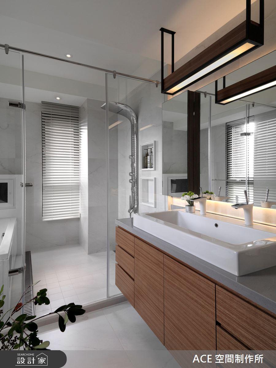 48坪新成屋(5年以下)_混搭風浴室案例圖片_ACE 空間制作所_ACE 空間制作所_03之20