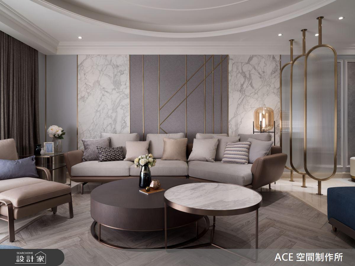 150坪新成屋(5年以下)_新古典客廳案例圖片_ACE 空間制作所_ACE 空間制作所_05之2