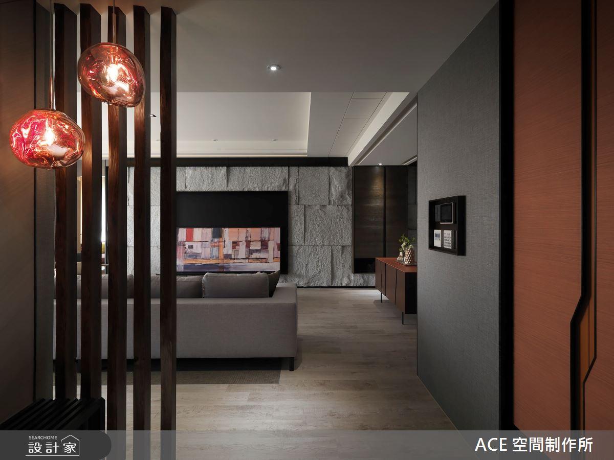 80坪新成屋(5年以下)_混搭風玄關客廳案例圖片_ACE 空間制作所_ACE 空間制作所_06之1