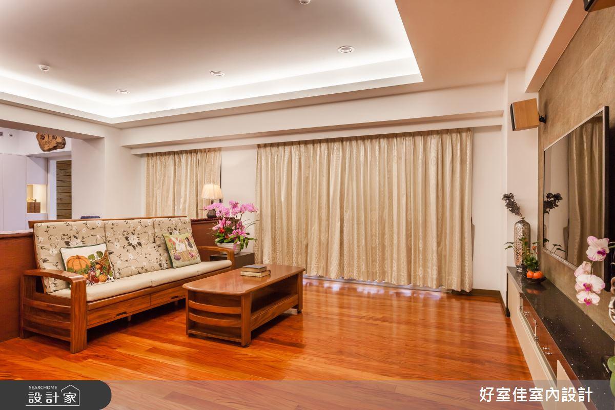 60坪老屋(16~30年)_簡約風客廳案例圖片_好室佳室內設計_好室佳_60坪 沉靜。細膩之3