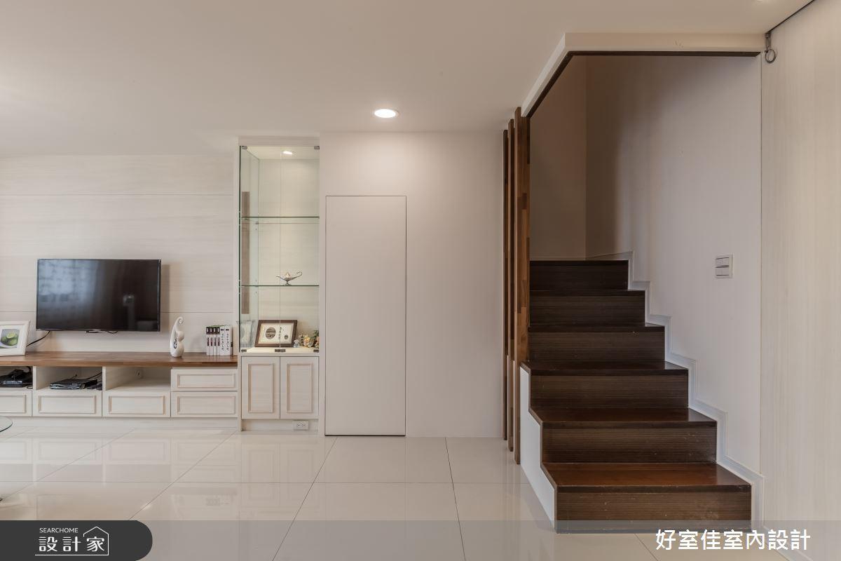 45坪老屋(16~30年)_簡約風客廳案例圖片_好室佳室內設計_好室佳_十足創意的混搭空間之3