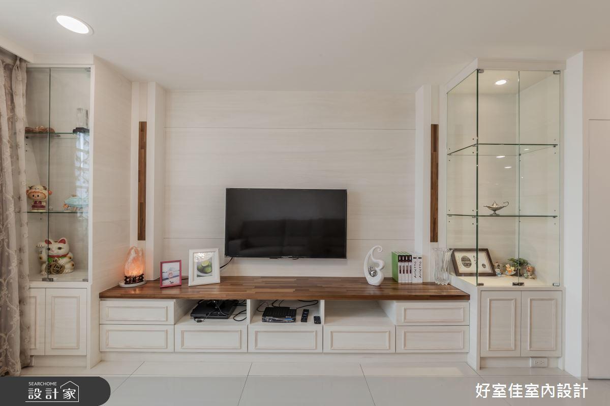 45坪老屋(16~30年)_簡約風客廳案例圖片_好室佳室內設計_好室佳_十足創意的混搭空間之4