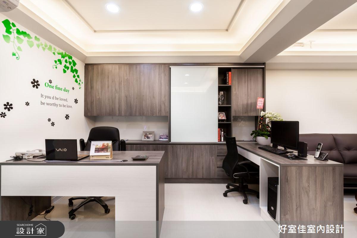 30坪老屋(31~40年)_簡約風商業空間案例圖片_好室佳室內設計_好室佳_個性黑白X視覺空間之4