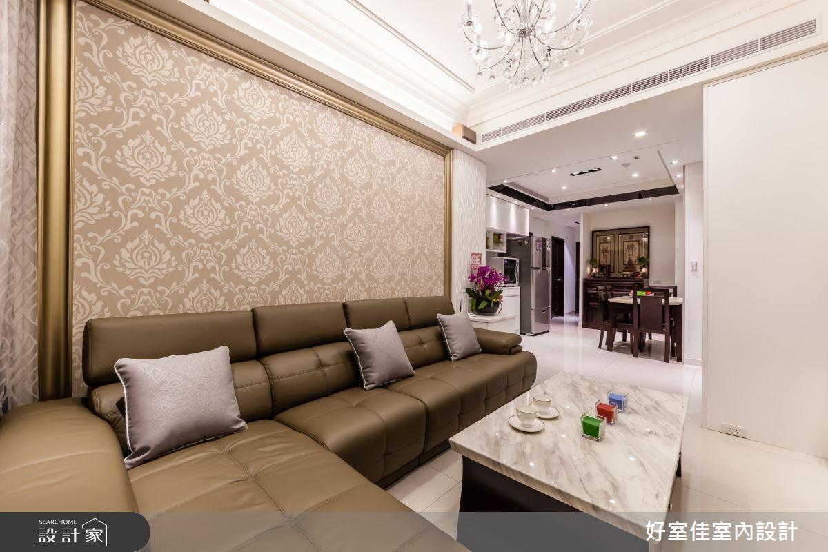 27坪新成屋(5年以下)_簡約風客廳案例圖片_好室佳室內設計_好室佳_善用空間的簡約收納之3