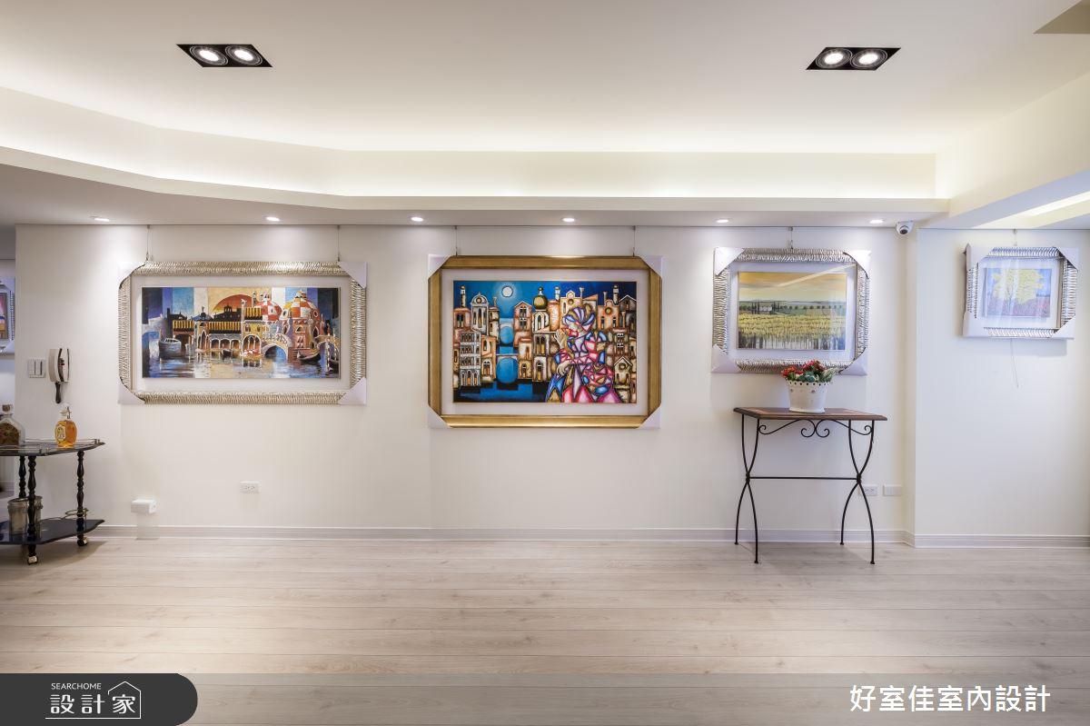 31坪老屋(16~30年)_簡約風商業空間案例圖片_好室佳室內設計_好室佳_淡雅迷人藝展空間之3