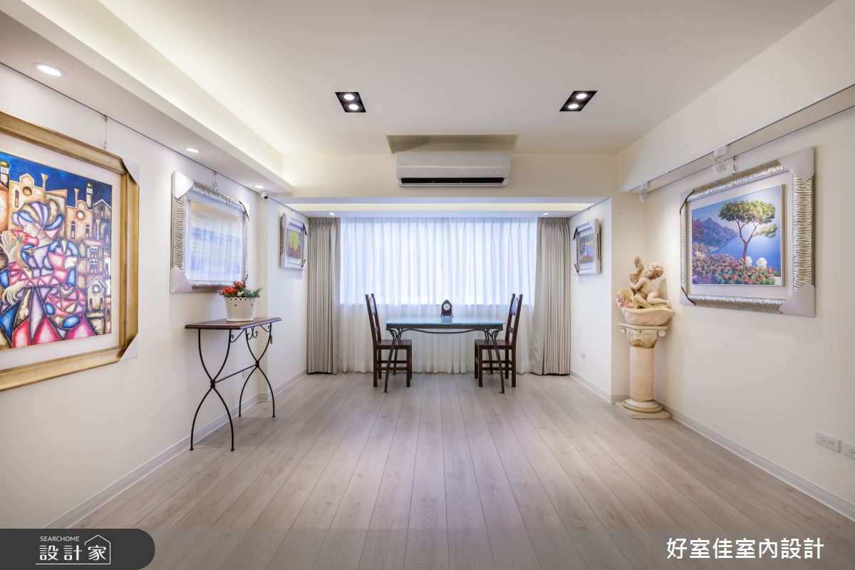 31坪老屋(16~30年)_簡約風商業空間案例圖片_好室佳室內設計_好室佳_淡雅迷人藝展空間之4