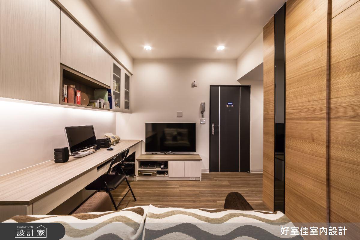 10坪老屋(16~30年)_簡約風客廳書房案例圖片_好室佳室內設計_好室佳_簡約的小空間之2