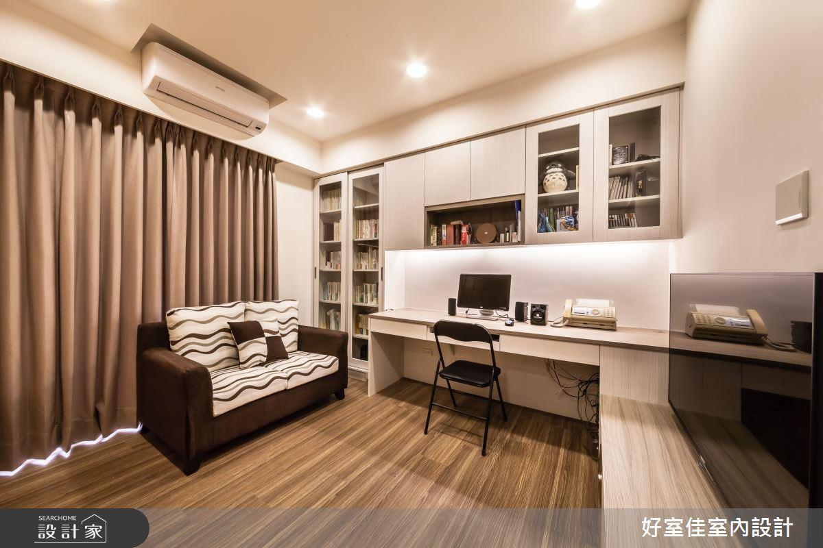 10坪老屋(16~30年)_簡約風客廳書房案例圖片_好室佳室內設計_好室佳_簡約的小空間之3