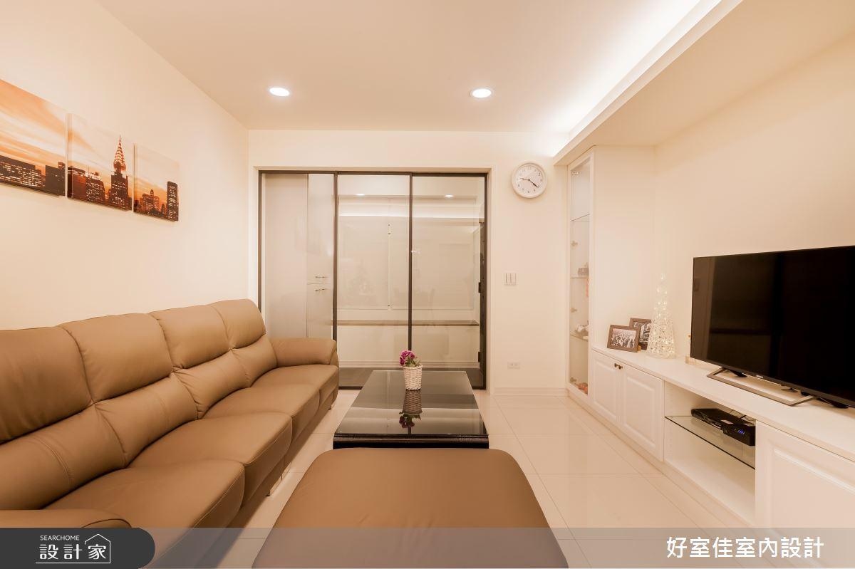 26坪老屋(16~30年)_新古典客廳案例圖片_好室佳室內設計_好室佳_輕古典。巧時尚好宅之3