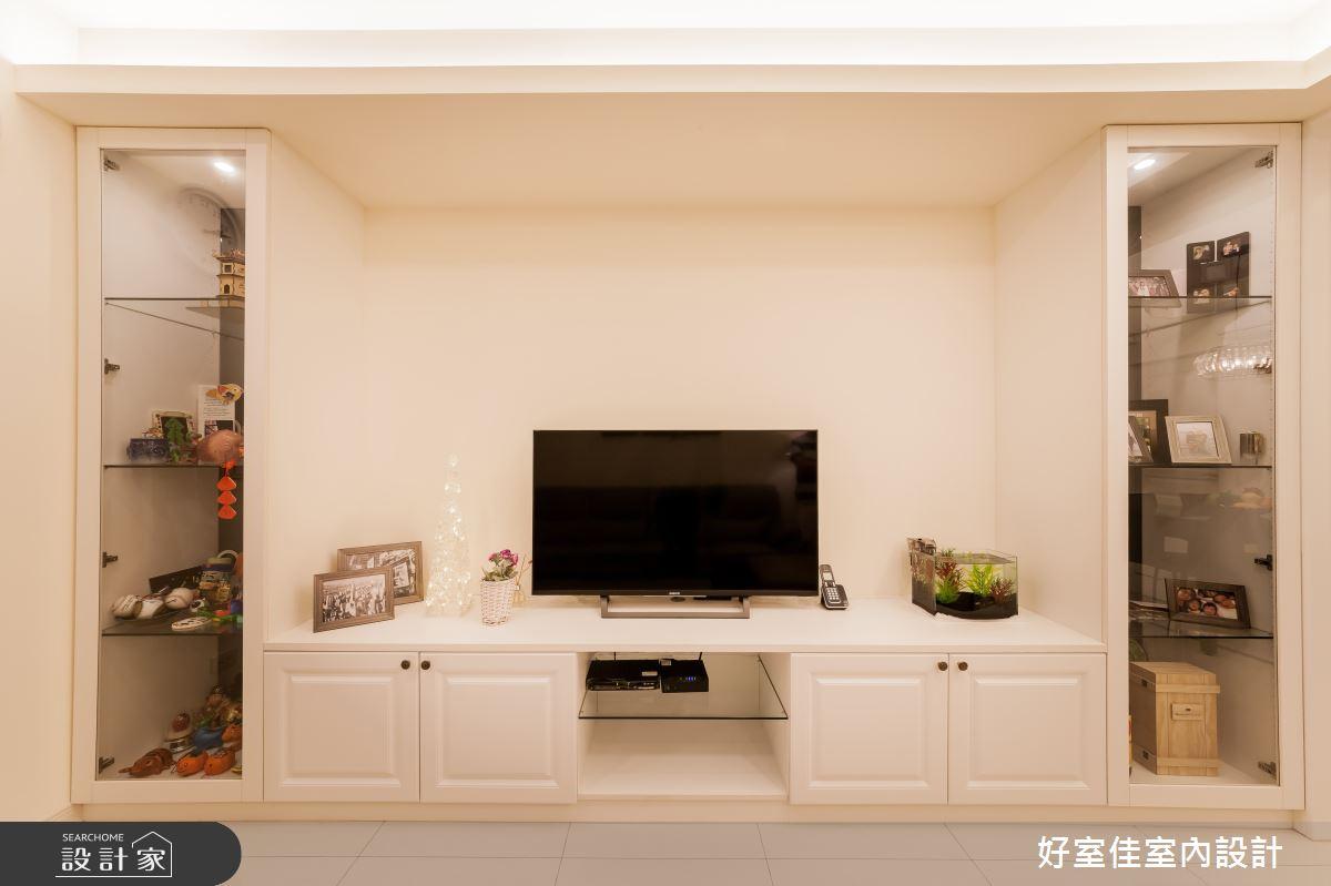 26坪老屋(16~30年)_新古典客廳案例圖片_好室佳室內設計_好室佳_輕古典。巧時尚好宅之4