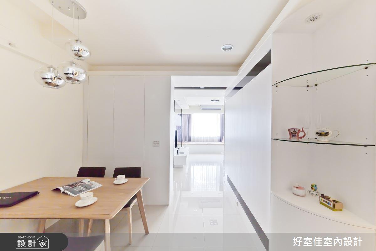 24坪老屋(16~30年)_簡約風餐廳案例圖片_好室佳室內設計_好室佳_黑與白的簡約之8