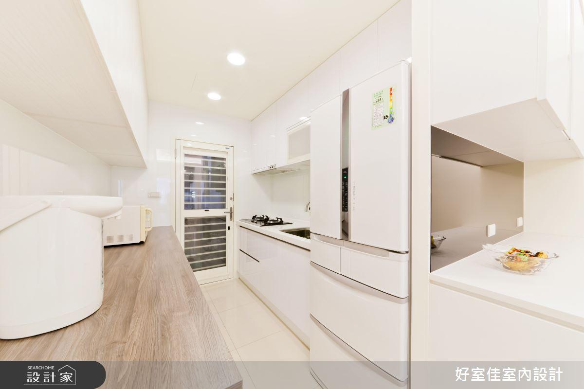 24坪老屋(16~30年)_簡約風廚房案例圖片_好室佳室內設計_好室佳_黑與白的簡約之9