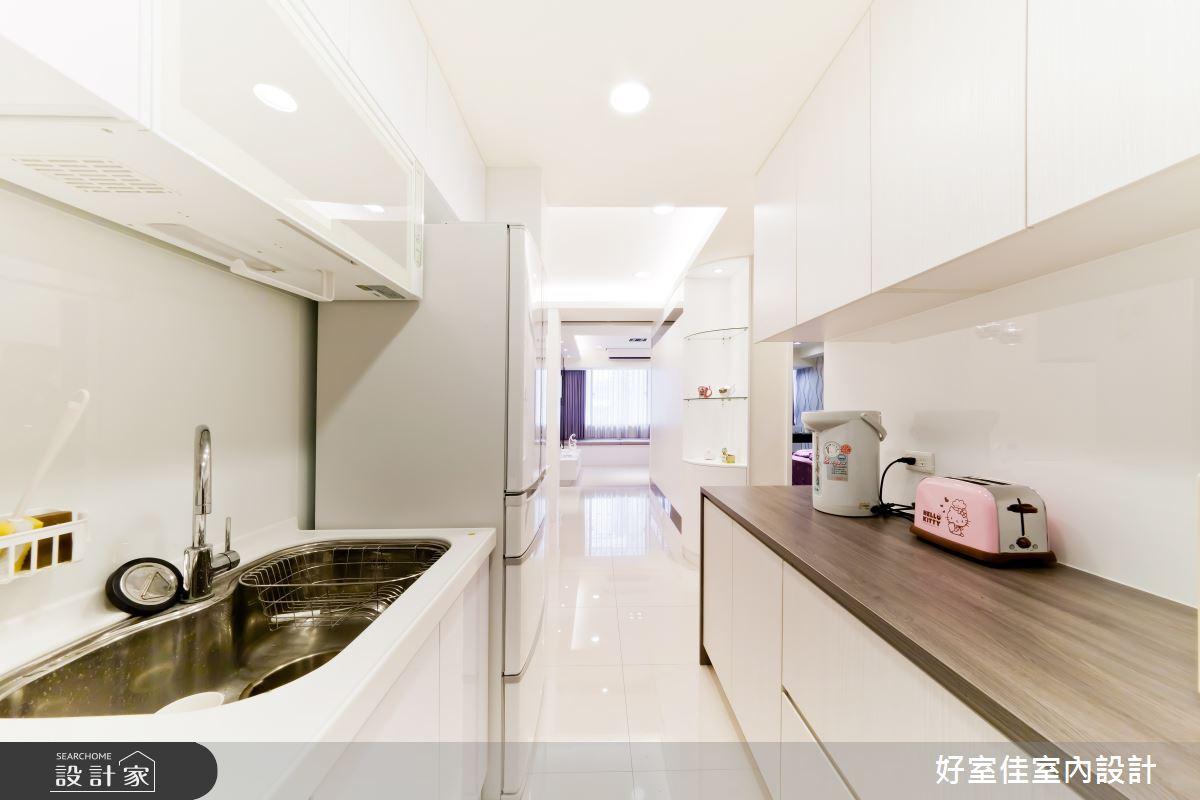 24坪老屋(16~30年)_簡約風廚房案例圖片_好室佳室內設計_好室佳_黑與白的簡約之10