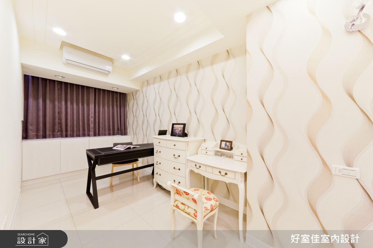 24坪老屋(16~30年)_簡約風臥室案例圖片_好室佳室內設計_好室佳_黑與白的簡約之12