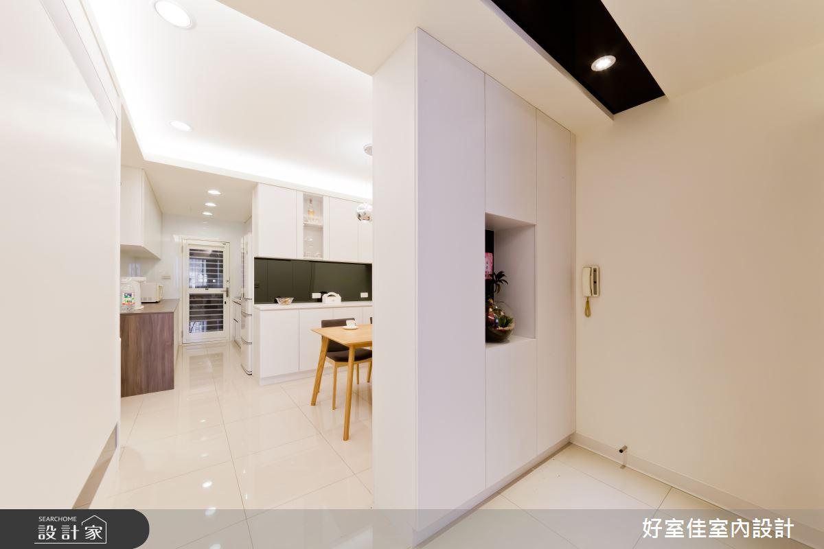24坪老屋(16~30年)_簡約風案例圖片_好室佳室內設計_好室佳_黑與白的簡約之15