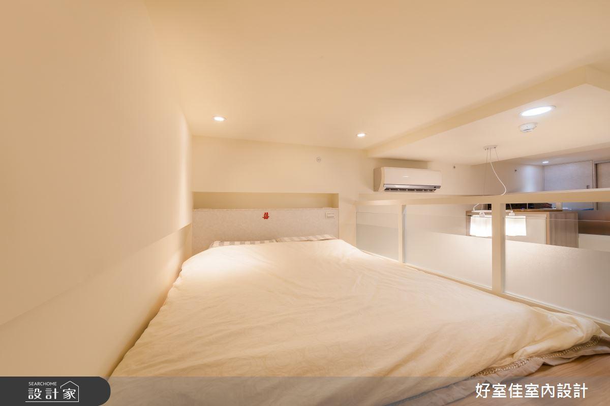 21坪新成屋(5年以下)_現代風臥室案例圖片_好室佳室內設計_好室佳_機能X甜蜜 樓中樓之13