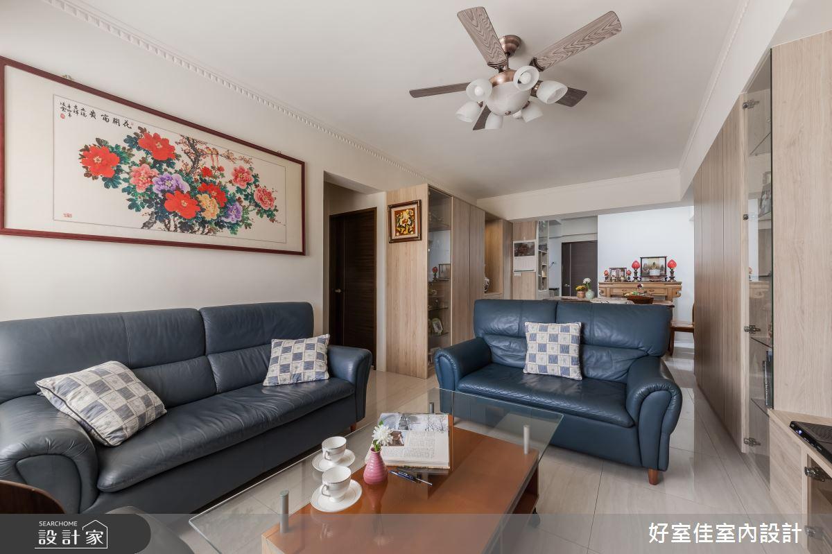 26坪老屋(16~30年)_現代風客廳案例圖片_好室佳室內設計_好室佳_好感演繹 內斂宅之4