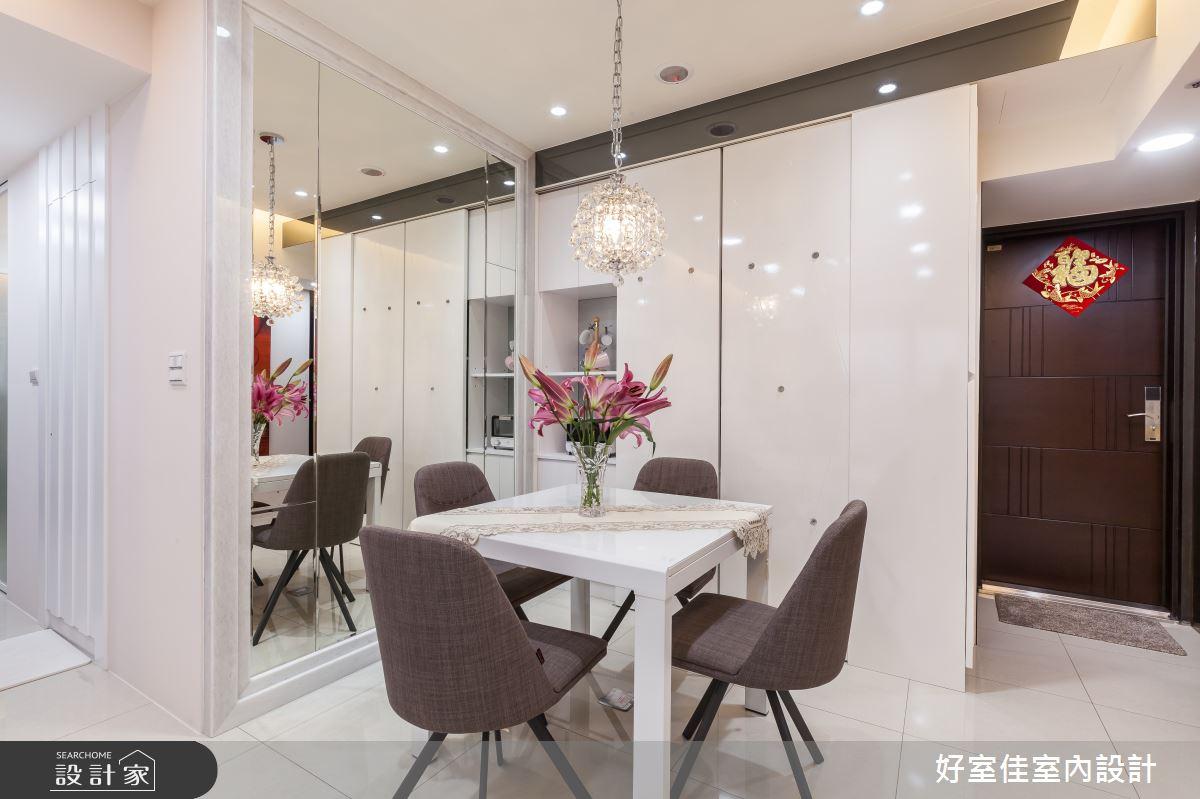 21坪_新古典餐廳案例圖片_好室佳室內設計_好室佳_雅致新古典風尚之3