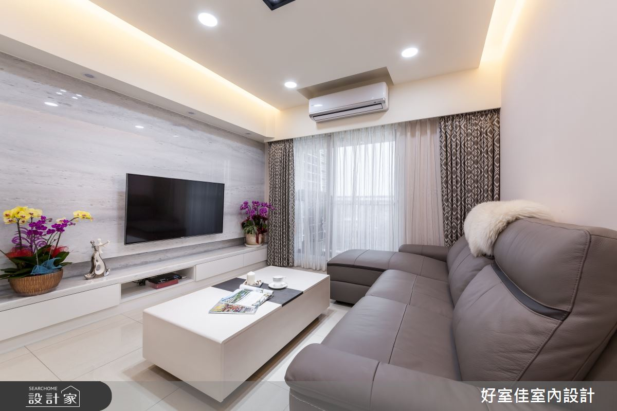 21坪_新古典客廳案例圖片_好室佳室內設計_好室佳_雅致新古典風尚之4