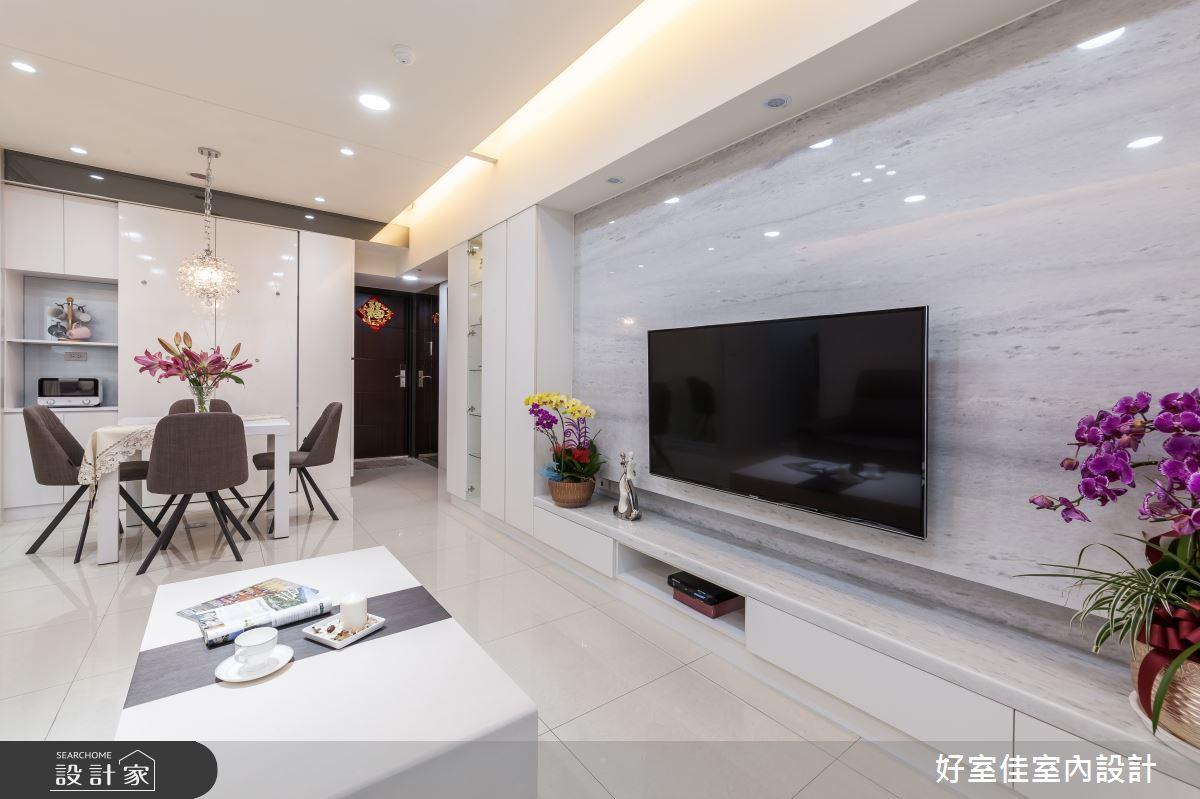 21坪_新古典客廳餐廳案例圖片_好室佳室內設計_好室佳_雅致新古典風尚之5