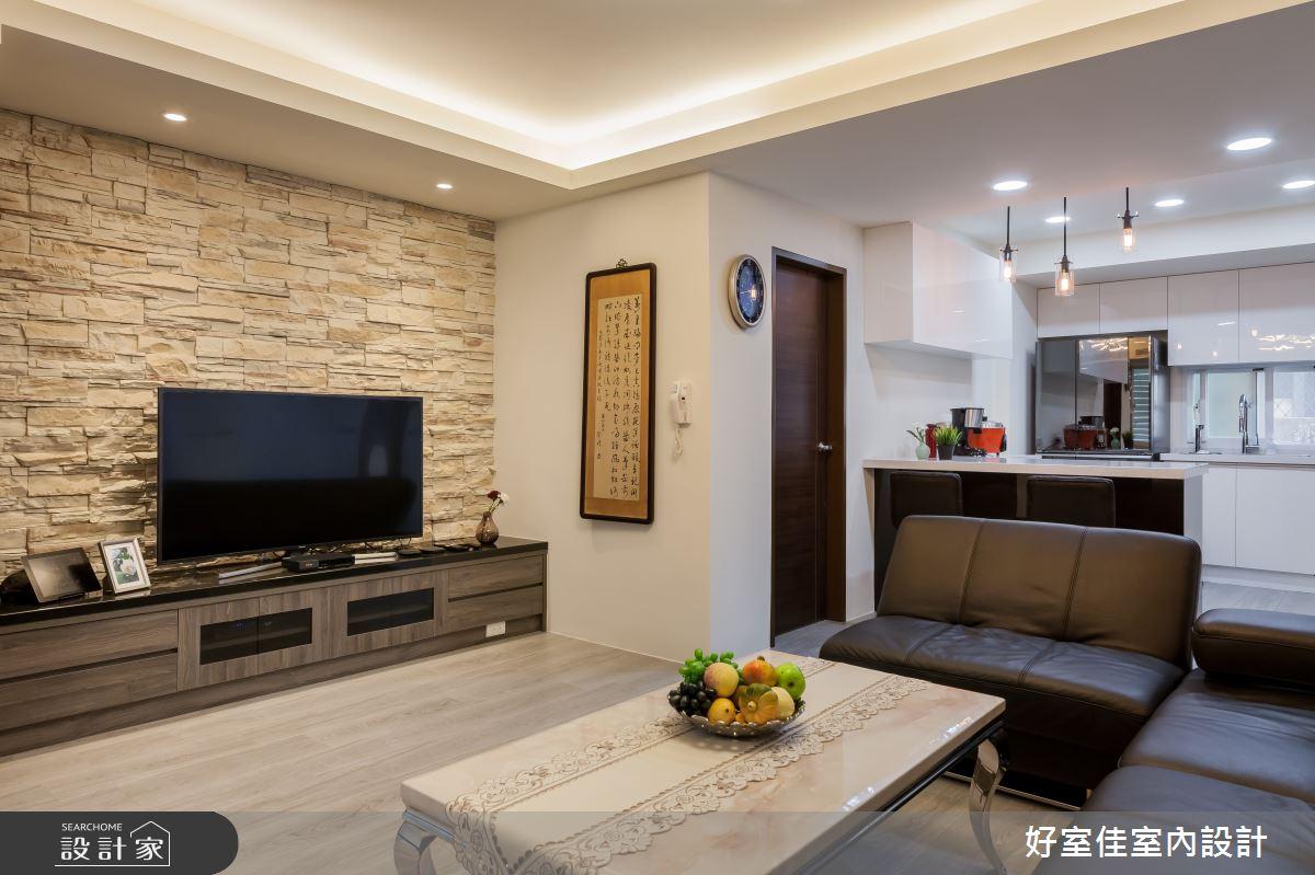 24坪老屋(31~40年)_現代風客廳案例圖片_好室佳室內設計_好室佳_日常的溫度 木質調之3