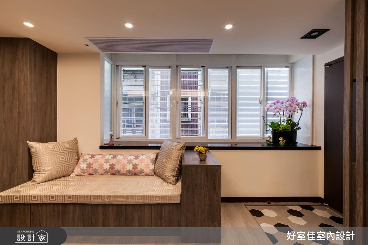 24坪老屋(31~40年)_現代風客廳案例圖片_好室佳室內設計_好室佳_日常的溫度 木質調之6