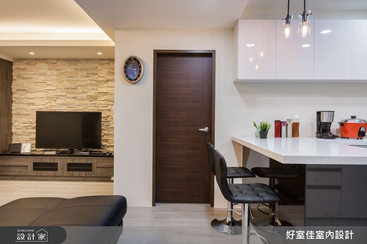 24坪老屋(31~40年)_現代風書房案例圖片_好室佳室內設計_好室佳_日常的溫度 木質調之8