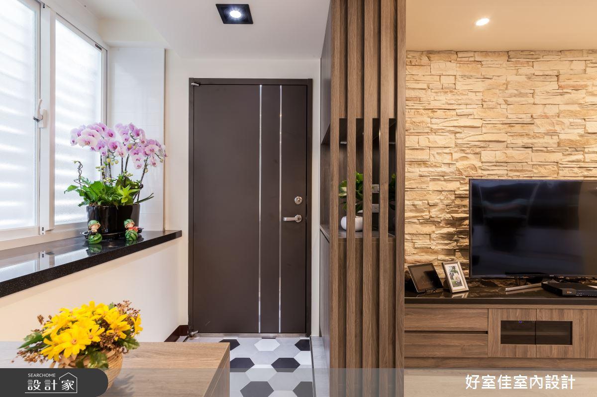 24坪老屋(31~40年)_現代風玄關案例圖片_好室佳室內設計_好室佳_日常的溫度 木質調之9
