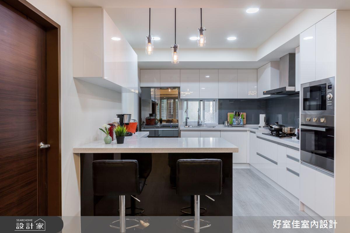 24坪老屋(31~40年)_現代風廚房吧檯案例圖片_好室佳室內設計_好室佳_日常的溫度 木質調之11