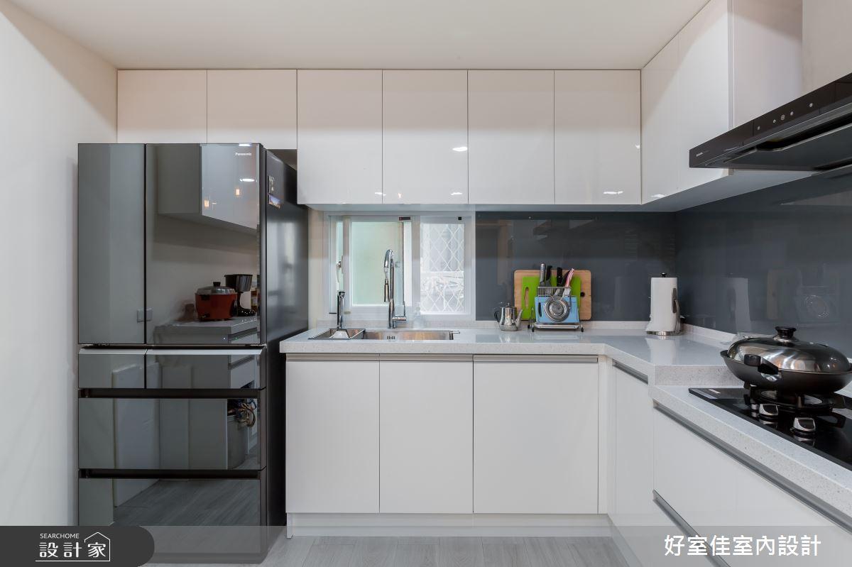 24坪老屋(31~40年)_現代風廚房案例圖片_好室佳室內設計_好室佳_日常的溫度 木質調之15