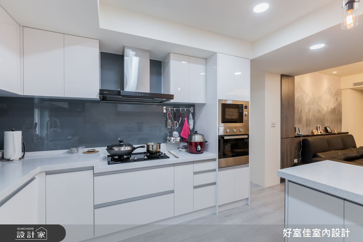24坪老屋(31~40年)_現代風廚房案例圖片_好室佳室內設計_好室佳_日常的溫度 木質調之16