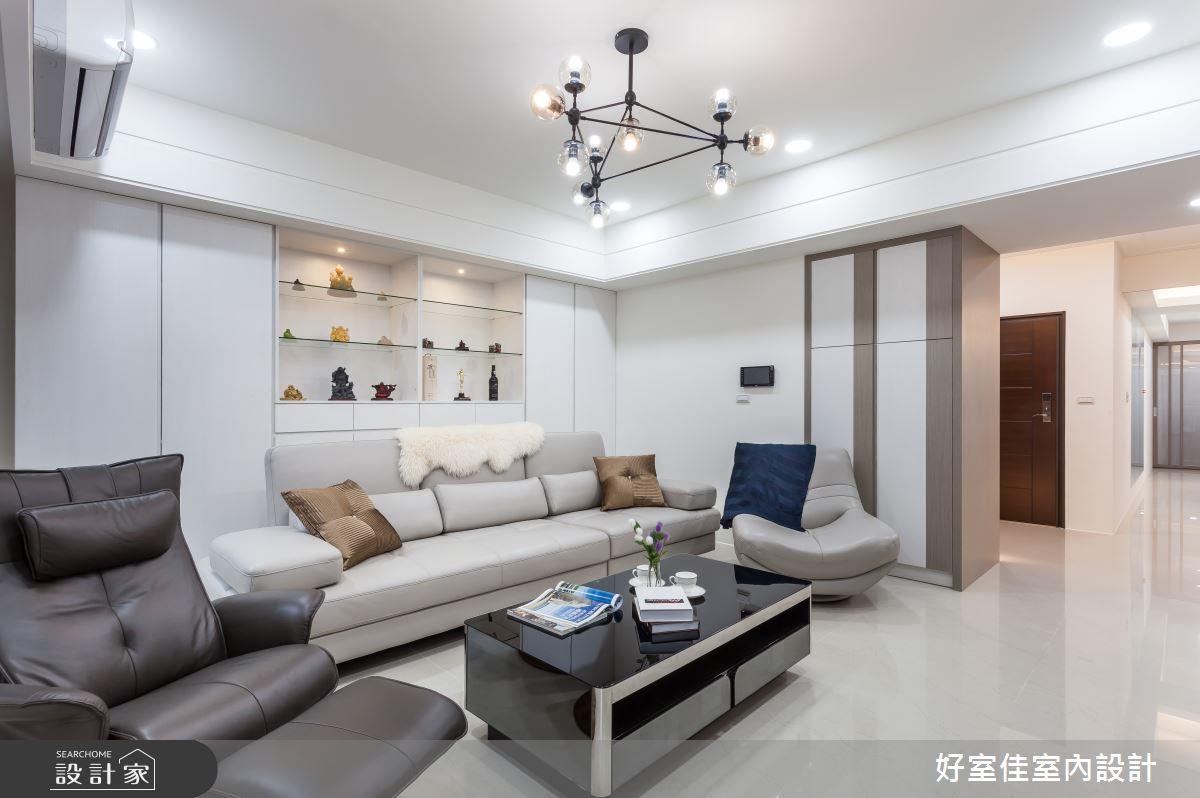 45坪新成屋(5年以下)_現代風客廳案例圖片_好室佳室內設計_好室佳_久看不膩的品味居家之2